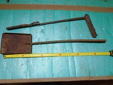 Schmiedeesse Kohleschaufel Werkzeug Flachschaufel Schmiedewerkzeug Feuerhaken
