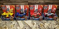 Paw Patrol Set of 4 Ready Race Rescue Deluxe Vehicles Skye Chase Marshal Rubble