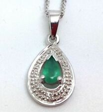 Emerald Pear Fine Necklaces & Pendants