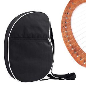 Einfache gepolsterte lyre tragen tasche fall 10-19 saiten harfe mit tasche