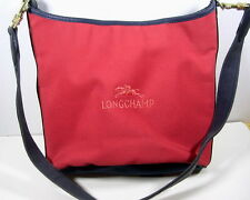 SAC LONGCHAMP CUIR & TOILE VINTAGE COLLECTION VERS 1980