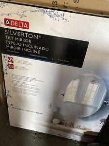 Delta Silverton tilt mirror