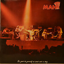 "MAN-Be Good to Yourself at Least Once a Day-gimmick COVER 12"" LP (m445)"