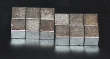 """Tungsten Cubes 1/4"""" for Pinewood Derby Car Weight 2oz = 12 pcs lowest price+ship"""