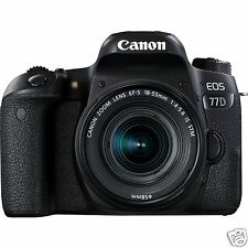 Canon EOS 77D DSLR Camera Kit (EF-S18-55 IS STM)  (Black)