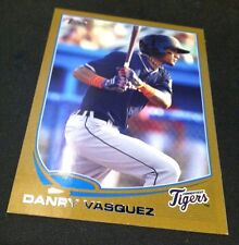 DANRY VASQUEZ 2013 Topps Pro Debut GOLD Parallel ROOKIE SSP #d /50 TIGERS INV
