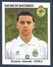 "PANINI FUTBOL 93-94 SPANISH -#223-RACING DE SANTANDER-VICENTE ALLENDE ""CHILI"""