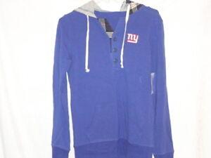 New York Giants Alyssa Milano hoodie-OOPS SPECIAL FOR SUPER GGGGG-LADIES!-Medium