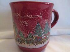 Vintage Christmas collector mug Germany 1996