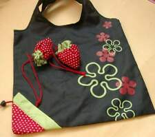 5 x Shopping Bag Foldable Reusable Grocery Travel Carry Bag Strawberry Shape New