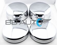 CHROME WHEEL CENTER HUB CAPS SET OF 4 FOR 2003-2017 DODGE RAM 3500 1-TON DUALLY