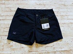 BNWT Arcteryx Women's Creston Shorts 4.5 Outdoor Stretch Hiking Shorts Sz 6 W29