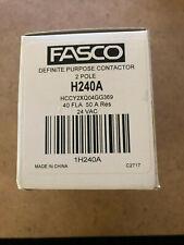 Fasco H240A 2-Pole Contactor