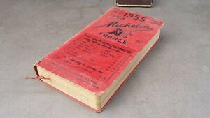 Ancien guide rouge MICHELIN 1955, état correct.