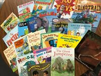 Lot of 20 Story Time kids books toddlers boy Curious George Trains Frogs Jungle