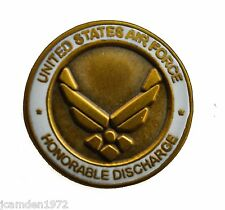USAF Air Force Honorable Discharge Hat or Lapel Pin H15844D15