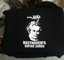 The Great Kat Beethoven's Guitar Shred T Shirt Large new without tag promo shirt