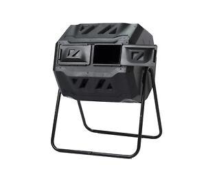 Maze Outdoor Compost Dual Tumbler Bin 160lt (ROTO)