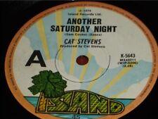 "Cat Stevens:   Another Saturday Night  1974  Australian   7"""