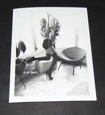 4 X 5 REPRINT NEGATIVE PHOTO Risque FROM IRVING KLAW Fish Nets High Heel NFP-362