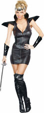 Morris Costumes Women's Stretch Knit Warrior Darkness Costume Black S. RL8971SM