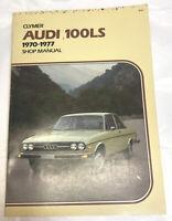1970 thru 1977 Clymer Audi 100LS with Wiring Diagrams Shop Manual Vintage Vtg
