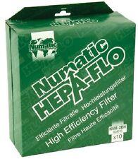 Numatic Hepa-Flo nvm-2bh 604016 Bolsas para aspiradora 1 caja (10x BOLSAS)