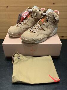 Nike Air Jordan 6 Travis Scott British Khaki - Size: Men's 10.5