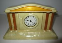 Antique/Vintage Wind up 30-Hour Desk Clock made in USA