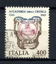 ITALIA 1983 SG # 1782 Accademia della Crusca utilizzato #A 40477