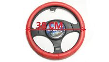 RED STEERING WHEEL COVER( LEATHER LOOK),TOYOTA HILUX, CAMRY,COROLLA,HIACE,PRADO