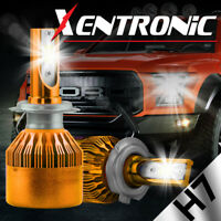 2x XENTRONIC 1050W 157500LM H7 LED Headlight Kit Light bulb Low Beam white 6000k