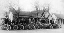 "Vintage Harley-Davidson Motorcycle Club 10 x 19""  Photo Print"