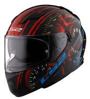 LS2 Men's Stream Motorcycle Helmet Speed Demon Gloss Black All Sizes