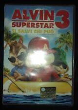 ALVIN SUPERSTAR 3 -si salvi chi può  -DVD originale- anno 2011  (NUOVO!!)