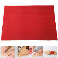 Sole Rubber Sheet Shoe Repair DIY Thickness 2.2mm Red/Black/Beige/White/Yellow