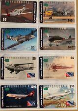 art.1624-8 telephons cards, Telstra Phonecard-aerei, avion