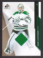 2014-15 SP Game Used Gold Jersey #40 Kari Lehtonen Dallas Stars