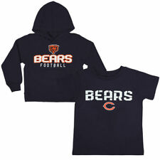 NFL Chicago Bears Tee and Fleece Pullover Set New With Tags Youth Size L 14/16