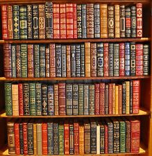 FRANKLIN LIBRARY 100 GREATEST BOOKS OF ALL TIME COMPLETE SET {Fine/Very Fine}