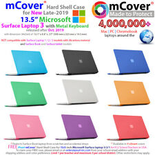 "NEW mCover Hard Case for 2019 13.5"" Microsoft Surface Laptop 3 w/ Metal Keyboard"