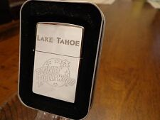 LAKE TAHOE NEVADA PLANET HOLLYWOOD ZIPPO LIGHTER MINT IN BOX 1998