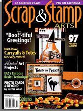 Scrap & Stamp Arts - 2007, Oct - Boo!-tiful Greetings!, Photo Cards & Beyond