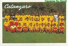 SQUADRA TEAM ITALIA US.CATANZARO SERIE B STICKER CALCIO 89 EUROFLASH