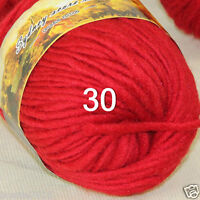 Sale 50 gr NEW Knitting Yarn Chunky Hand-woven Colorful Wool scarves shawls