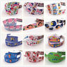 Free  5 Yard 1''25MM Cartoon princess Printed Grosgrain Hair Bow Sewing Ribbon