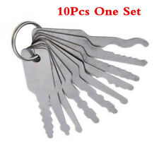 10X Emergency Open Car Opening Kit 10pcs Access Door Easy Tool Keys Auto Locks