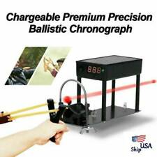 New Chargeable Ballistic Chronograph Premium Precision Bullet Shooting Velocity