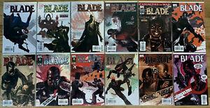 BLADE (2006) #1-12 COMPLETE SET LOT FULL RUN SPIDERMAN WOLVERINE MCU MOVIE FILM