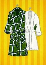 Anniversary Greeting Card - Fuzzy Robes